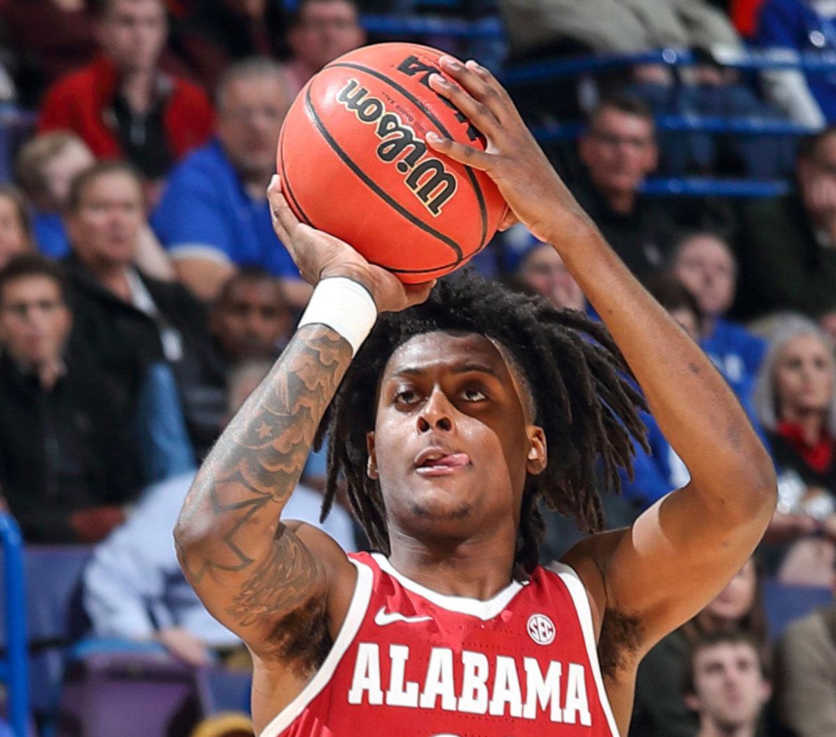Alabama Basketball: John Petty