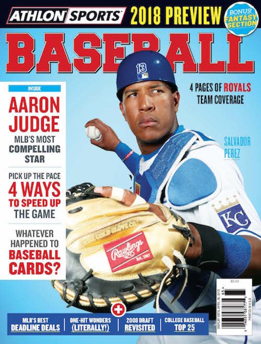 Kansas City Royals 2018 MLB Magazine cover