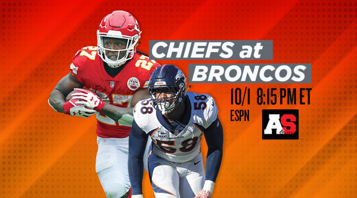 Monday Night Football: Kansas City Chiefs vs. Denver Broncos Prediction and Preview