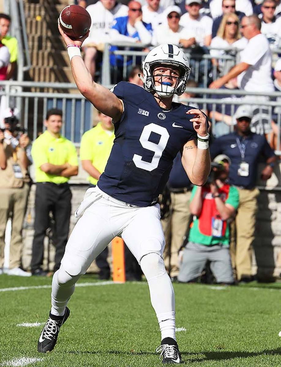 Penn State Nittany Lions QB Trace McSorley