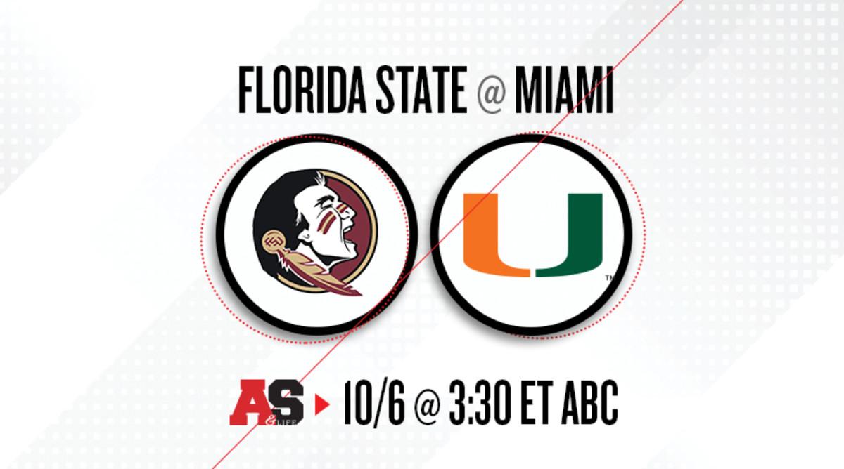 Florida State Seminoles vs. Miami Hurricanes Prediction and Preview