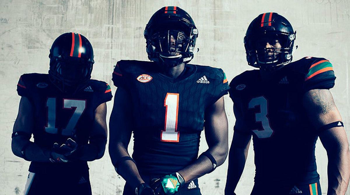 Miami Hurricanes Football Alternate Uniform