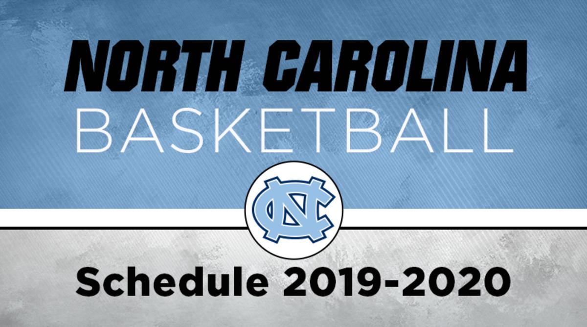 UNC Basketball Schedule
