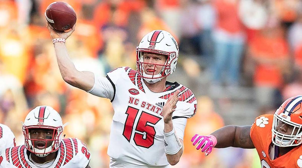 NC State Wolfpack vs. Syracuse Orange Prediction and Preview: Ryan Finley