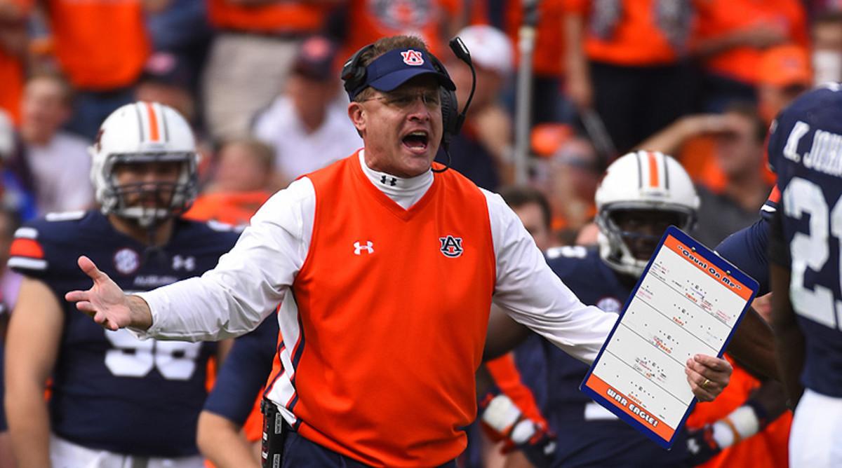 College Football Top 25: Auburn Tigers Football