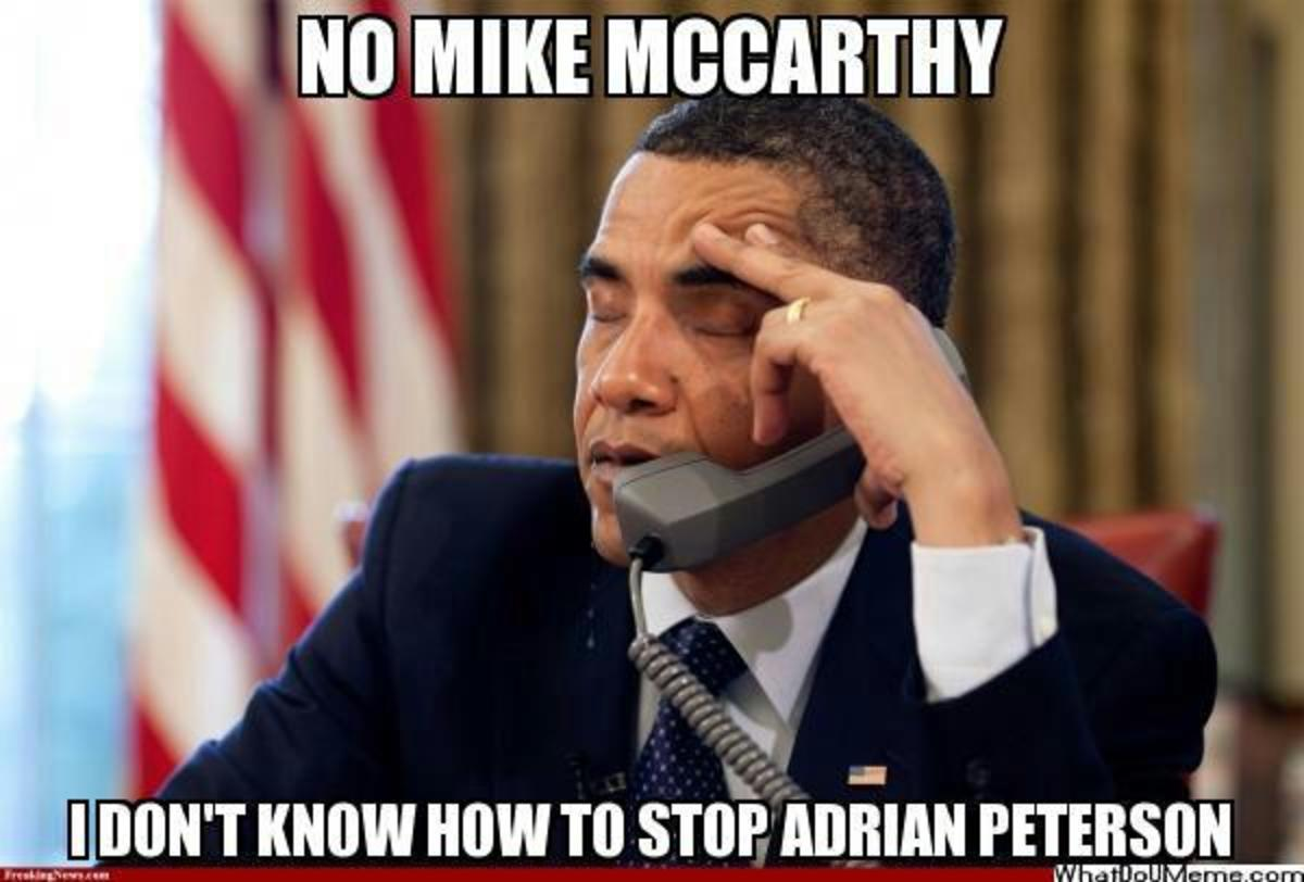 Green Bay Packers Meme Adrian Peterson