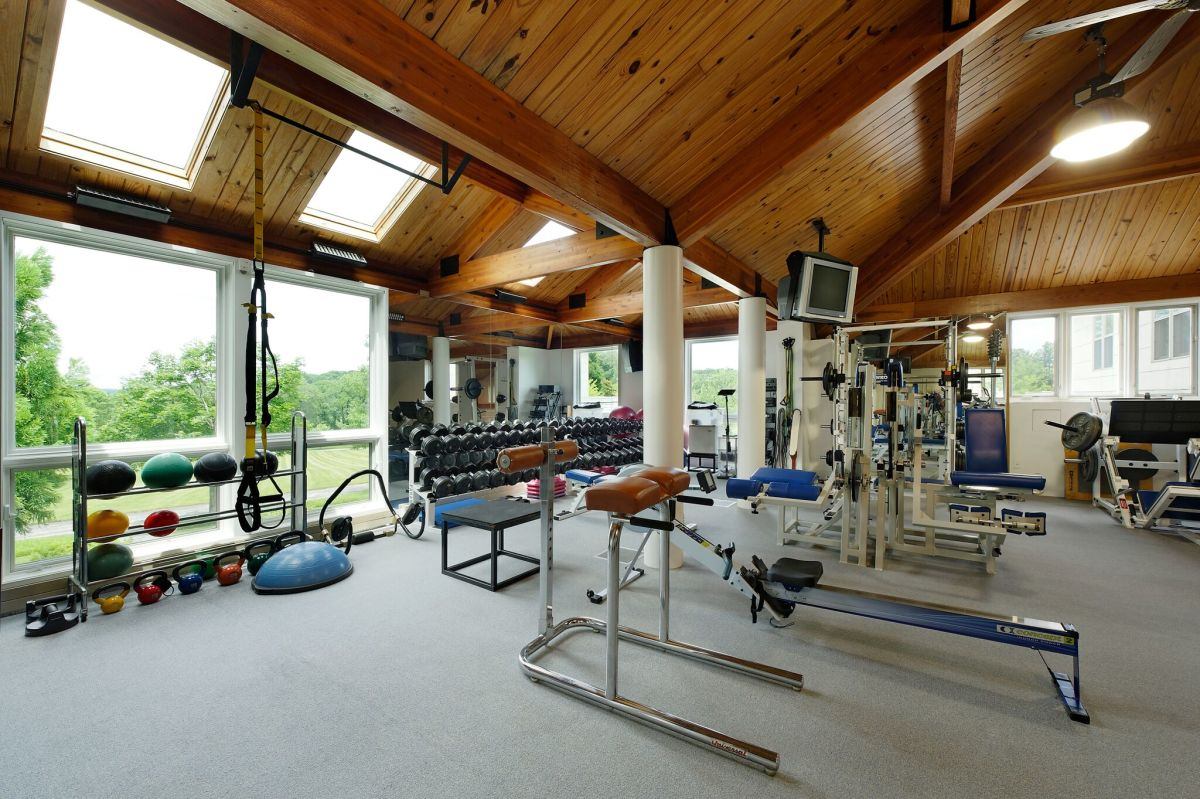 Cal Ripken's estate with 24 acres, baseball field and indoor basketball court