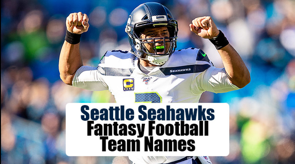 Seattle Seahawks Fantasy Football Team Names