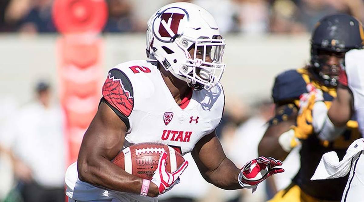 Zack Moss, Utah Football
