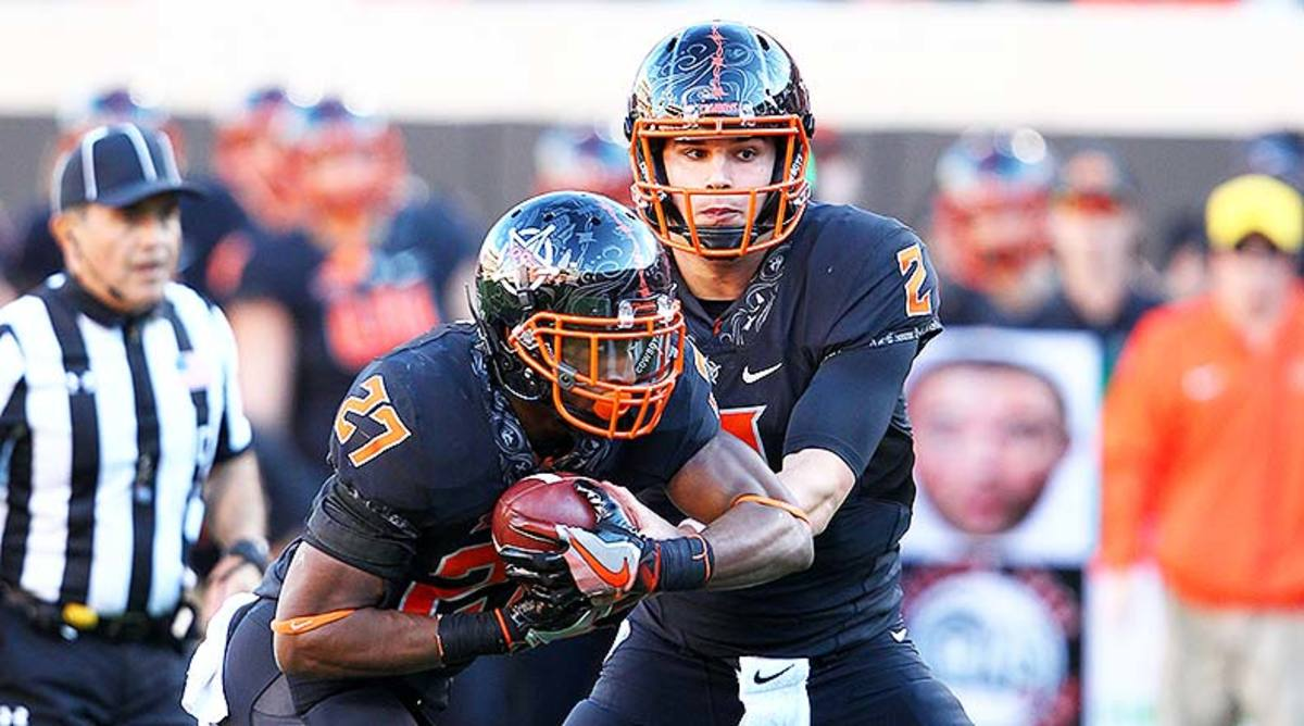 Mason Rudolph and Justice Hill