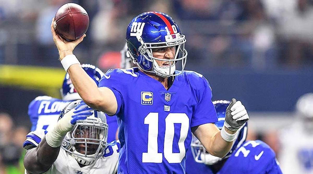 New York Giants QB Eli Manning