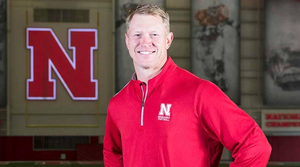 College football head coach Scott Frost Nebraska Cornhuskers