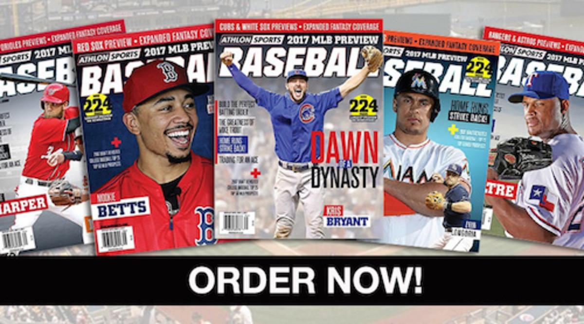 Athlon Sports 2017 MLB Baseball Preview Magazine