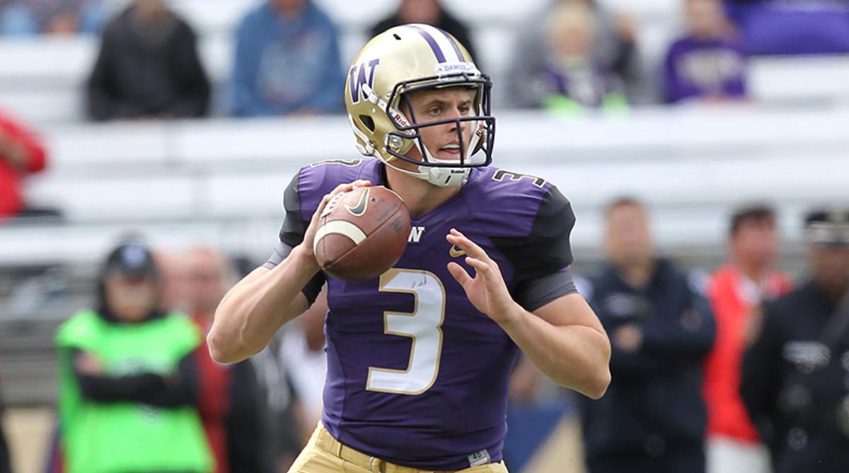 College Football Top 25: Jake Browning, Washington Huskies Football