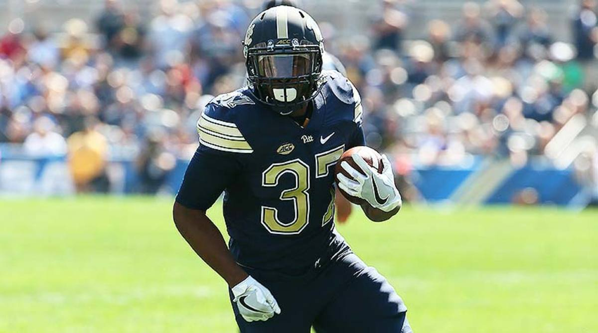 Pittsburgh Panthers RB Qadree Ollison