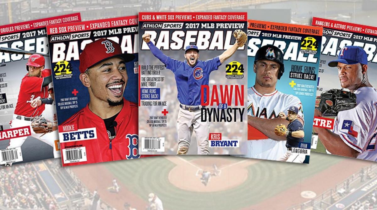 2017 Baseball MLB Preview Magazine