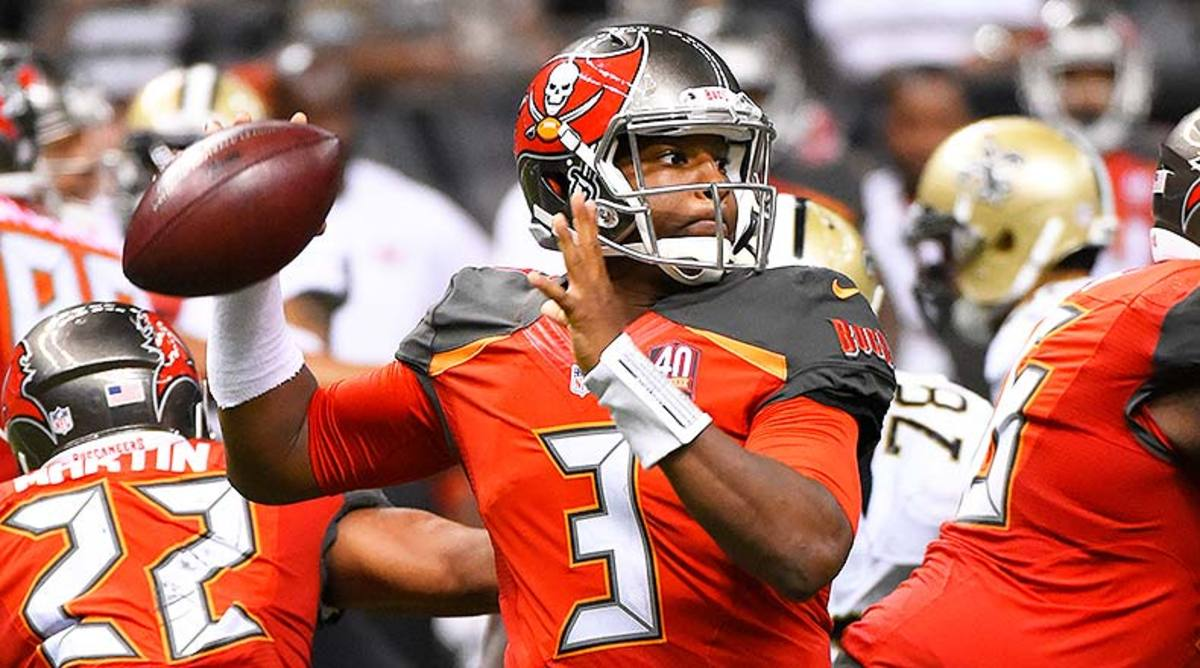 DraftKings and FanDuel Best Lineups for Week 9: Jameis Winston