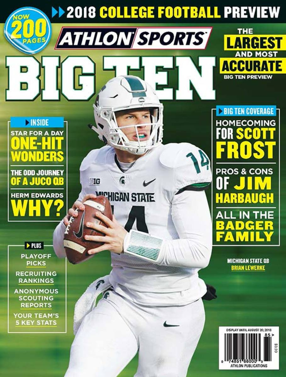 Michigan State Football/Big Ten Magazine