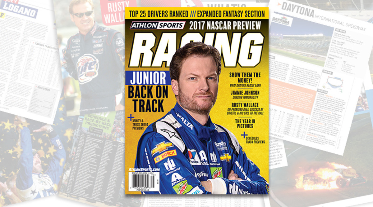 Athlon Sports 2017 NASCAR Racing Preview Magazine is Available Now