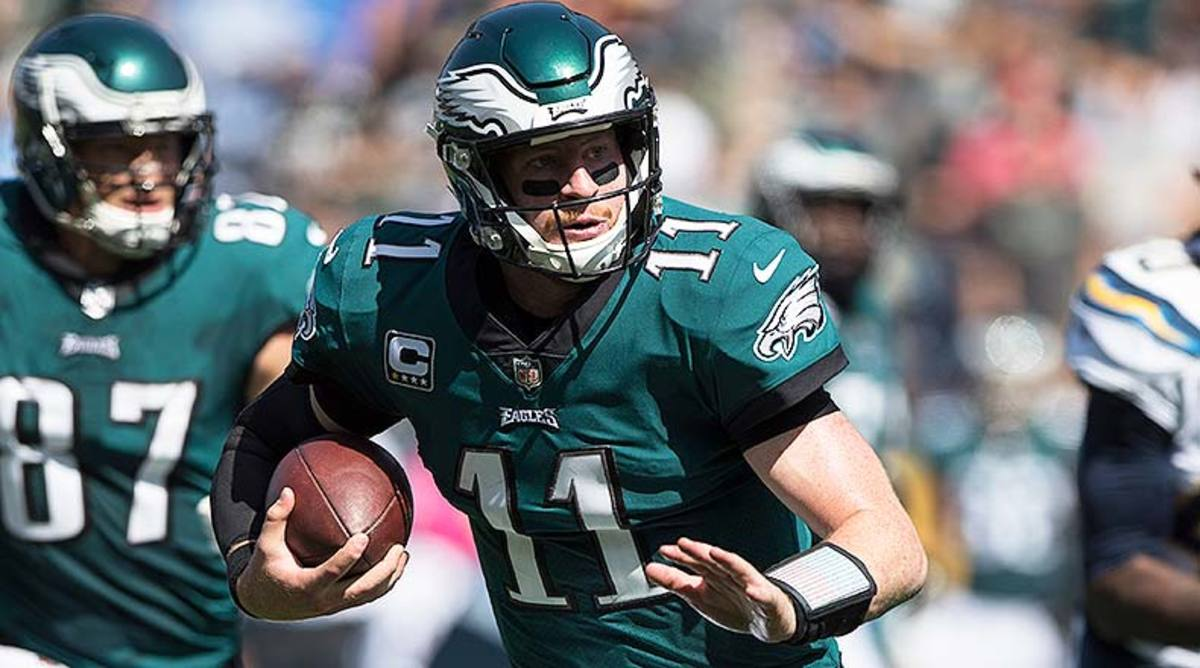 NFL Picks Against the Spread Week 3: Carson Wentz