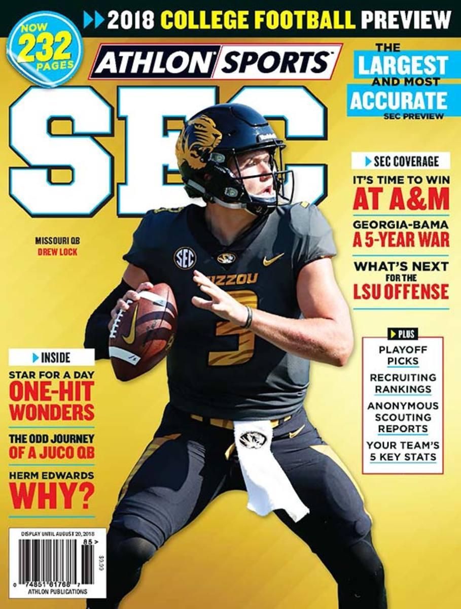 Missouri Football/SEC Magazine