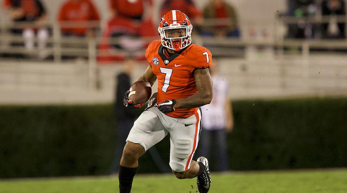 D'Andre Swift, Georgia Bulldogs Football