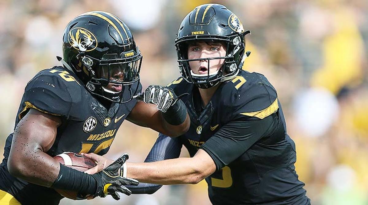 Damarea Crockett and Drew Lock, Missouri Football