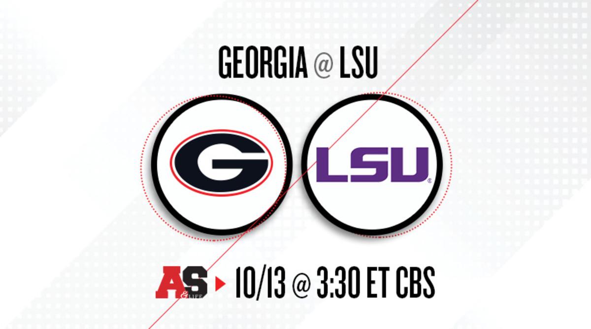 Georgia Bulldogs vs. LSU Tigers Prediction and Preview