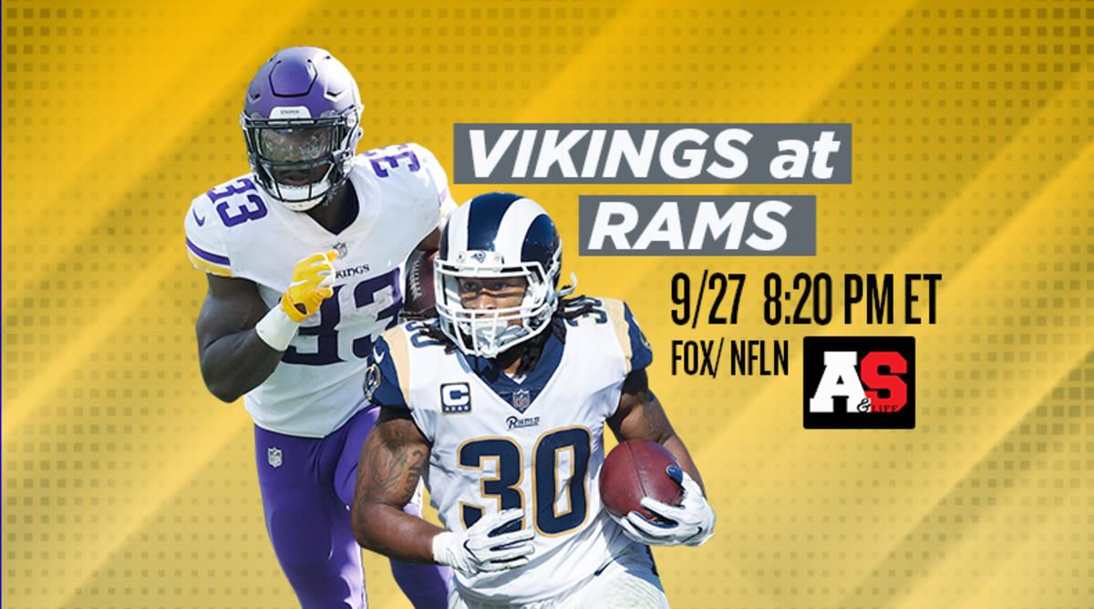 Thursday Night Football: Minnesota Vikings vs. Los Angeles Rams Prediction and Preview
