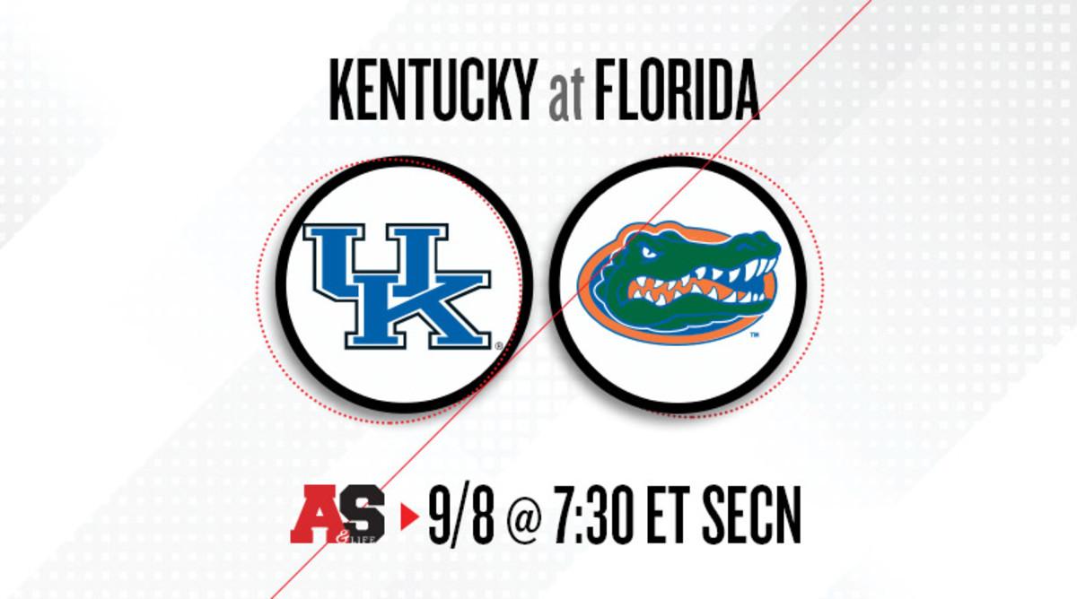 Kentucky Wildcats vs. Florida Gators Prediction and Preview
