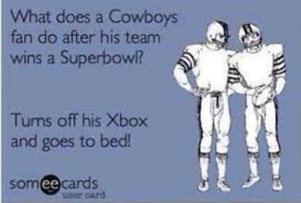 Funny Cowboys Meme Saying