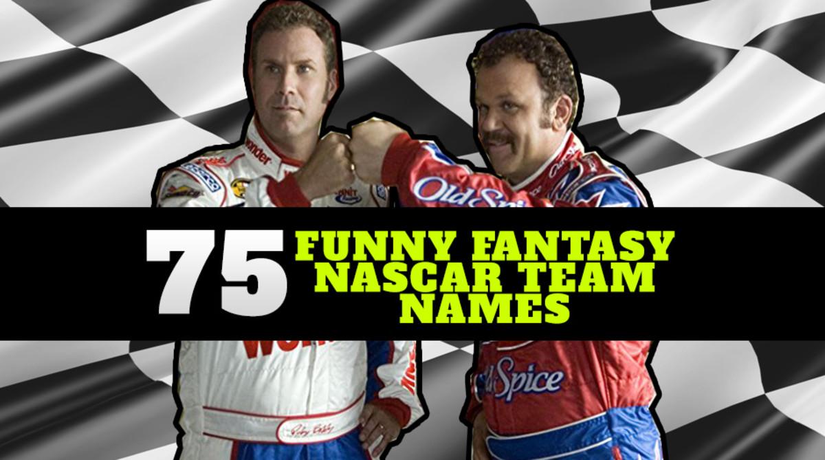 Fantasy NASCAR Team Names