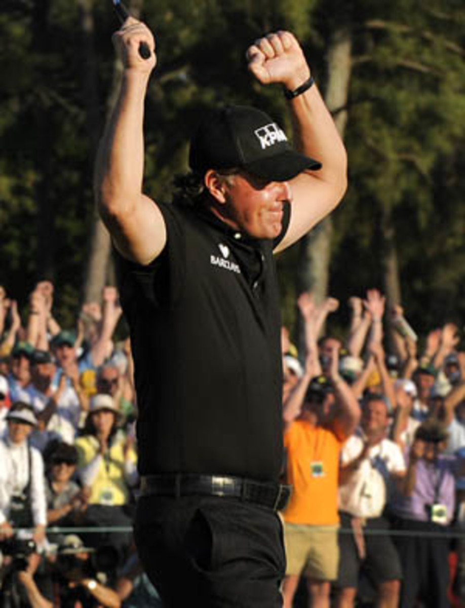 Phil Mickelson stats