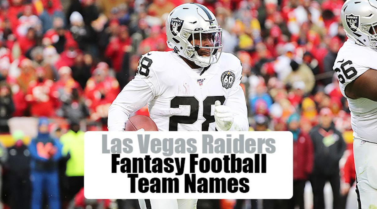 Las Vegas Raiders Fantasy Football Team Names