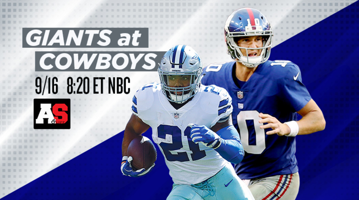 Sunday Night Football: New York Giants vs. Dallas Cowboys Prediction and Preview