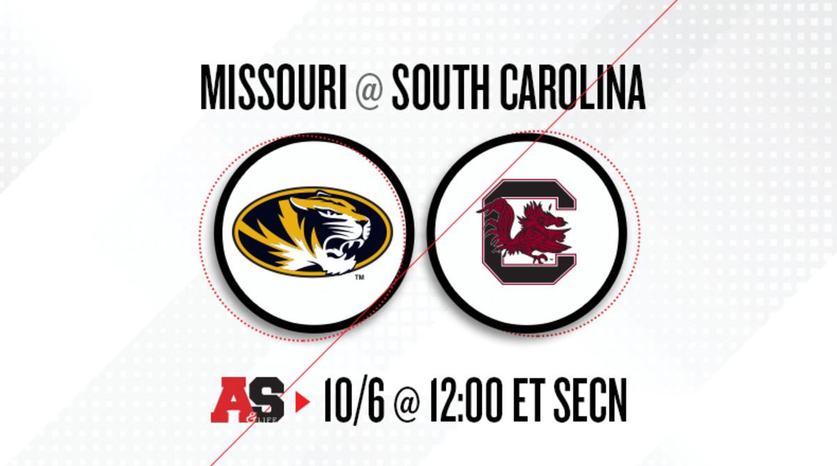 Missouri Tigers vs. South Carolina Gamecocks Prediction and Preview