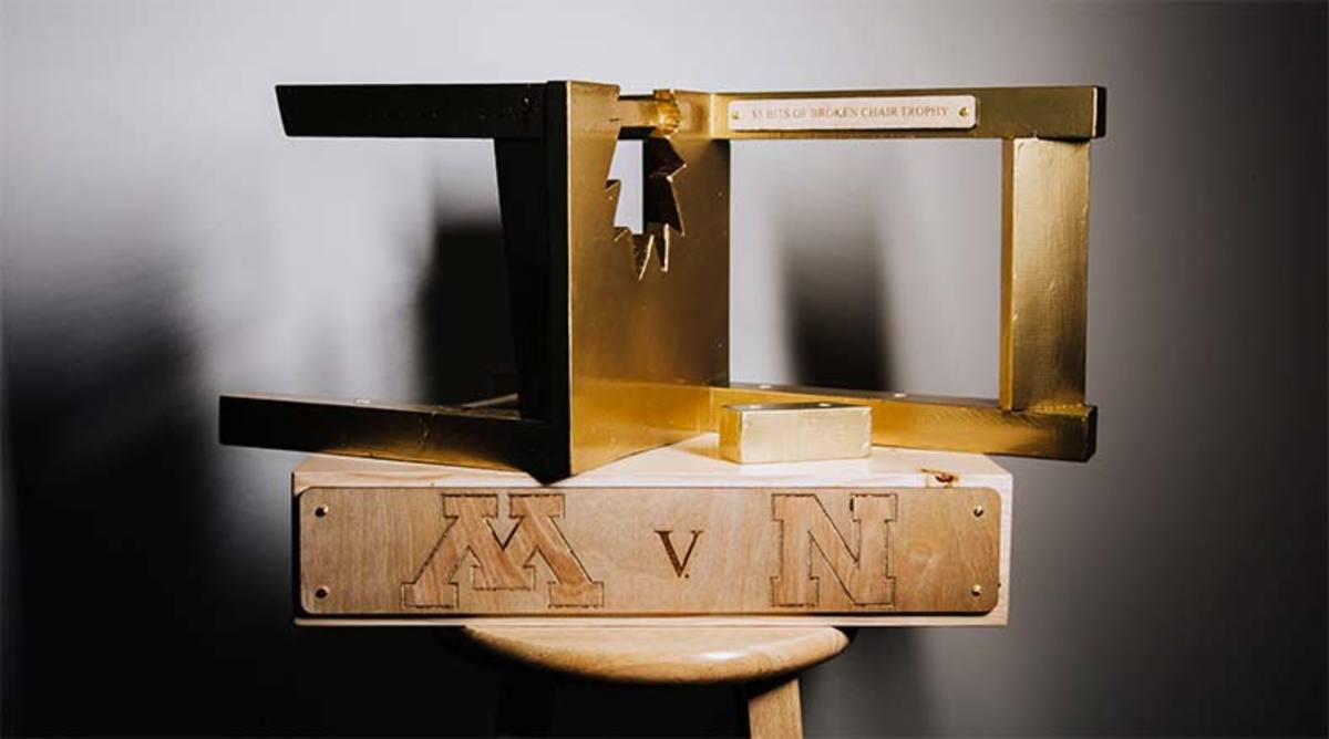 How the $5 Bits of Broken Chair Trophy Affects Nebraska Football and Minnesota Football Today