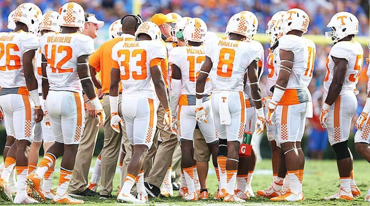College Football Tennessee Volunteers