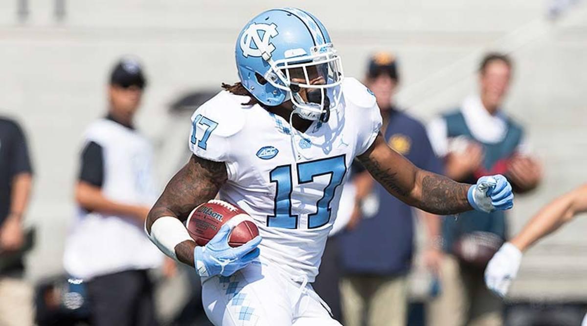 North Carolina Tar Heels WR Anthony Ratliff-Williams