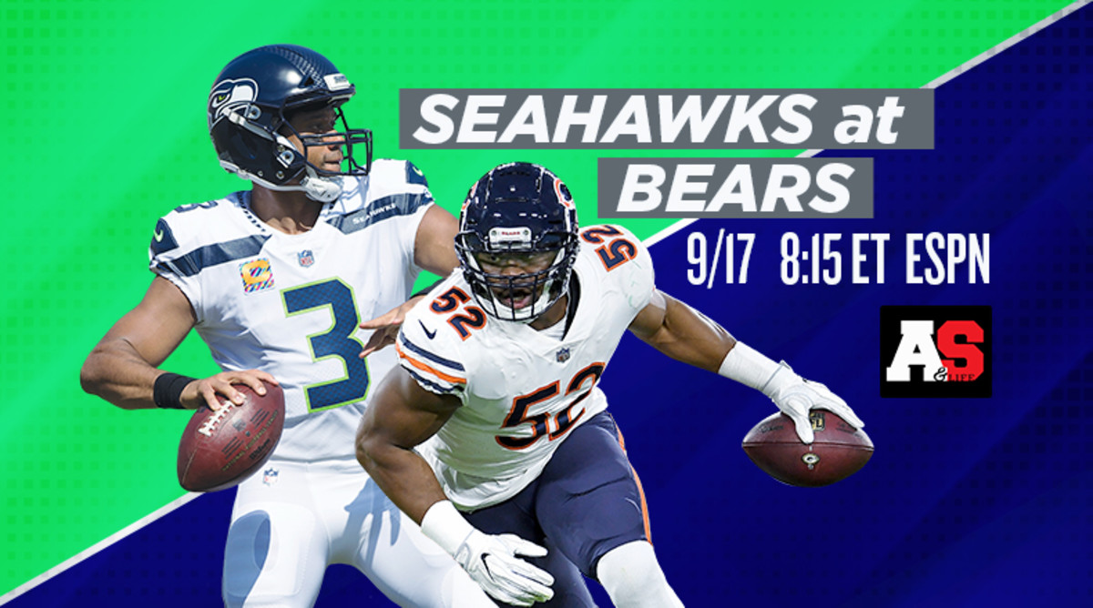 Monday Night Football: Seattle Seahawks vs. Chicago Bears Prediction and Preview