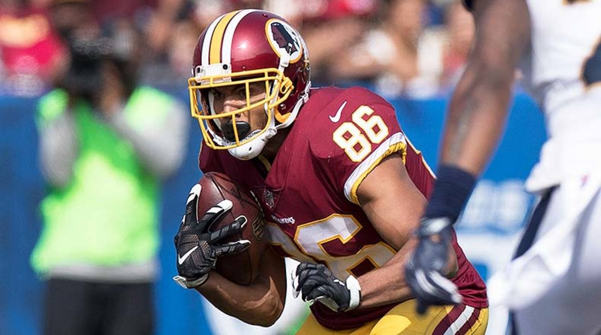 DraftKings and FanDuel Best Lineups for Week 1 NFL Daily Fantasy Football: Jordan Reed