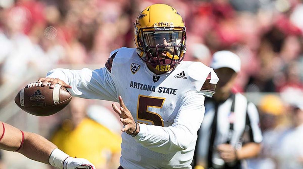Manny Wilkins, Arizona State Sun Devils Football
