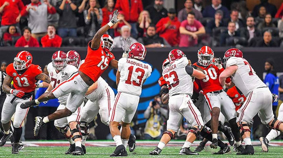 5 Best Alabama vs. Georgia College Football Games of All Time