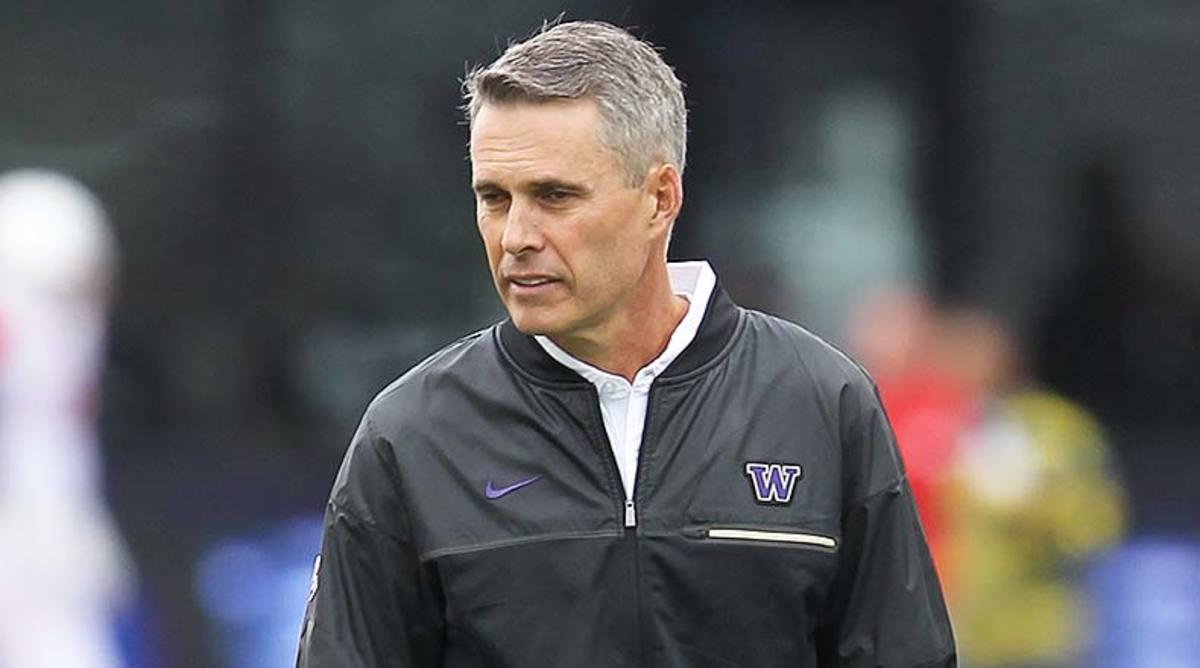 Chris Petersen, Washington Football