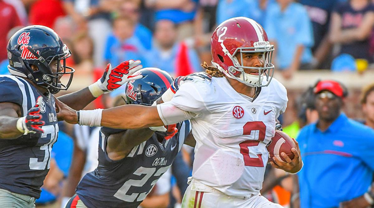 Jalen Hurts, Alabama Crimson Tide Football