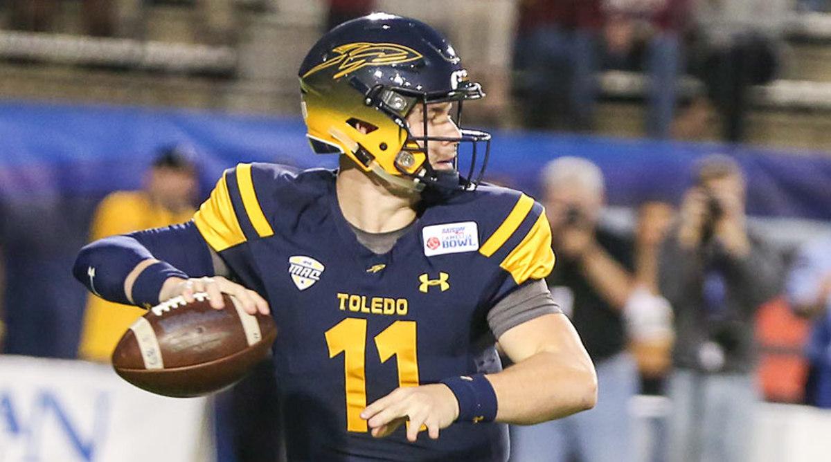 Logan Woodside, Toledo Rockets Football