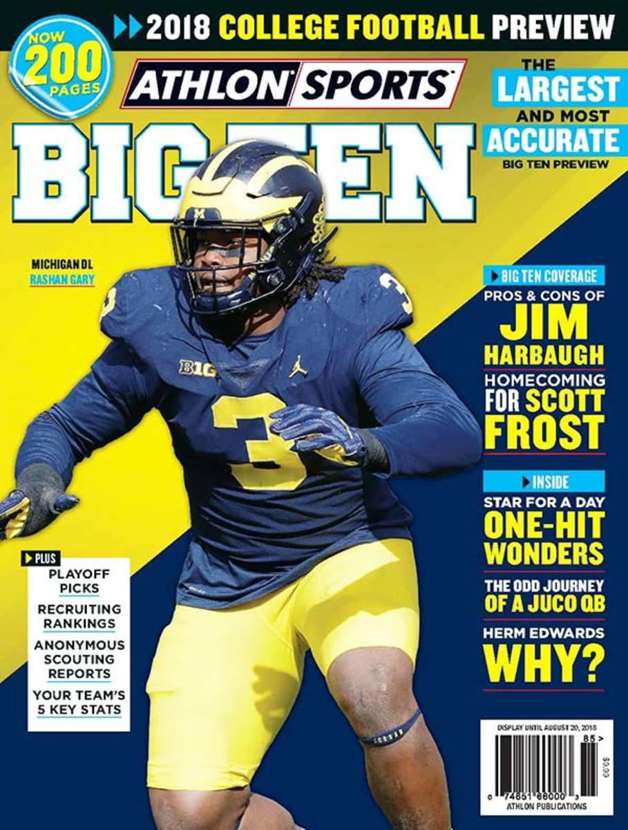 Michigan Football/Big Ten Magazine