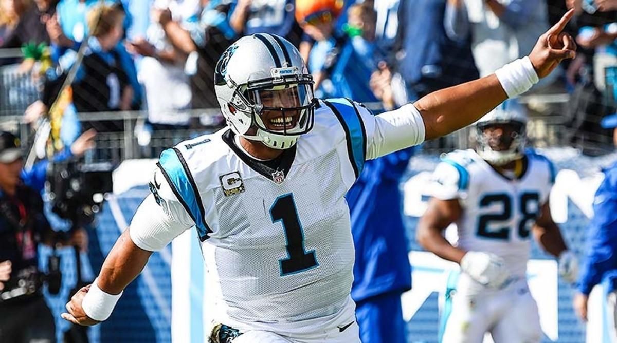 Cam Newton: NFL Locks Week 5