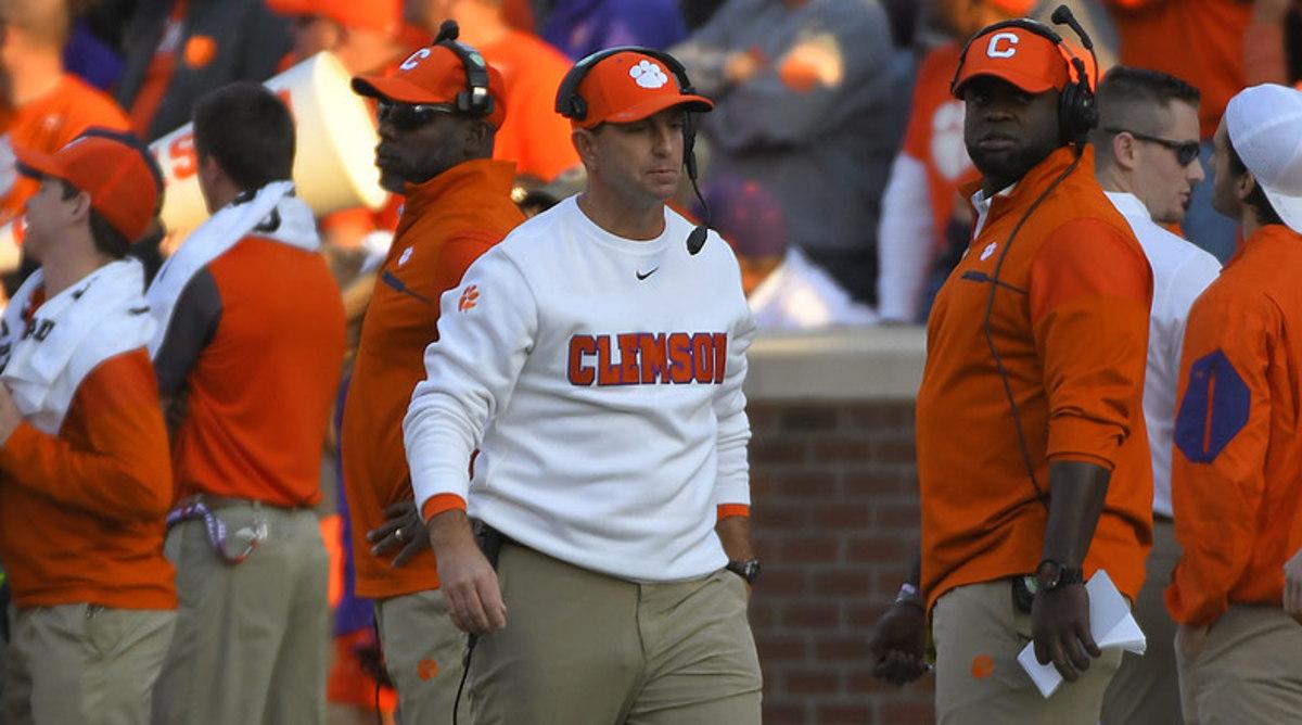 College Football Top 25: Dabo Swinney, Clemson Tigers Football