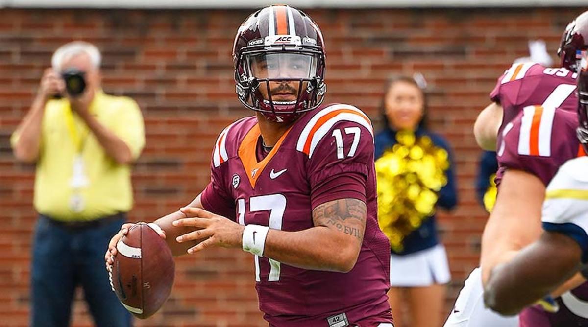 Virginia Tech Hokies QB Josh Jackson